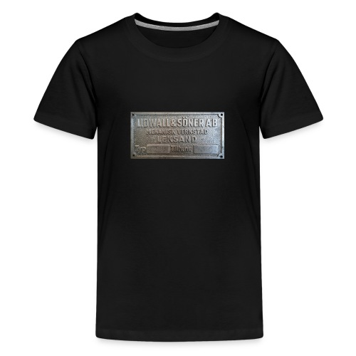 Tillverkningsskylt före 1967 - Premium-T-shirt tonåring