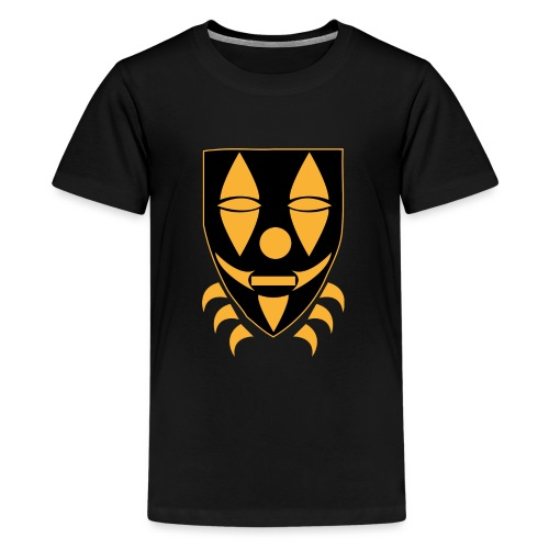 Mask only gold n black png - Teenager Premium T-shirt