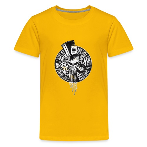 Kabes Heaven & Hell T-Shirt - Teenage Premium T-Shirt