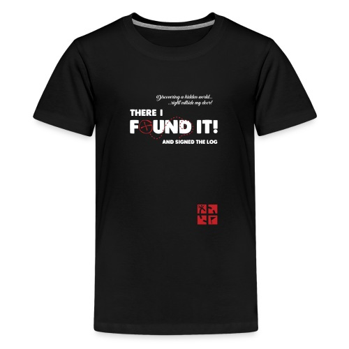 gcfoundit - Teenage Premium T-Shirt