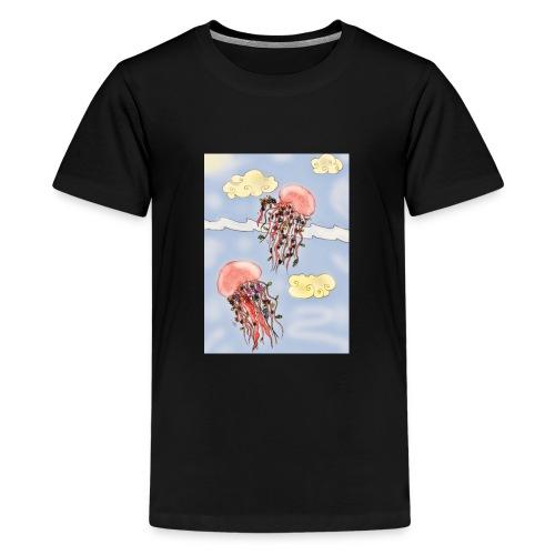 Méduses volantes - T-shirt Premium Ado