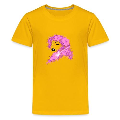 Lady Flo - Maglietta Premium per ragazzi