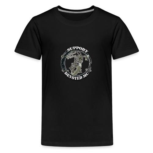 T-Shirt DEVOTEDMC SUPPORTSHOP10007 - Premium T-skjorte for tenåringer