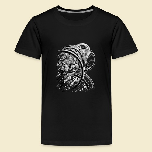 Radball | Cycle Ball Break 2 - Teenager Premium T-Shirt