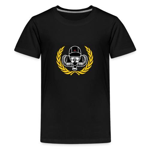 Logo Schwarz png - Teenager Premium T-Shirt