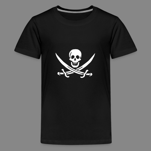 Jack Rackham Flag - T-shirt Premium Ado