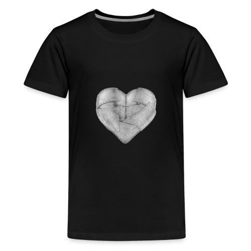 Corazon de hierro - Camiseta premium adolescente