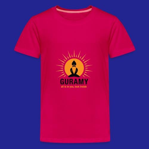 final nero con scritta - Teenage Premium T-Shirt