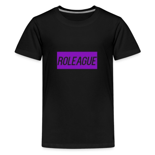 RoLeague Merch! - Teenage Premium T-Shirt