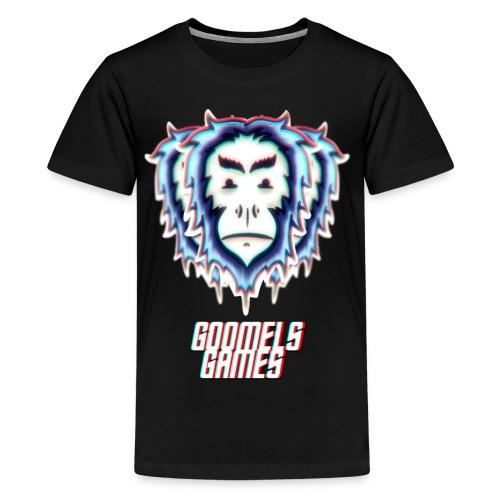 GoomelsGames logo & text teenager t-shirt. - Teenager Premium T-shirt