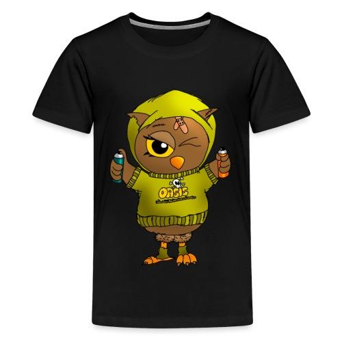 Eule KARL - Eulenclique - Teenager Premium T-Shirt