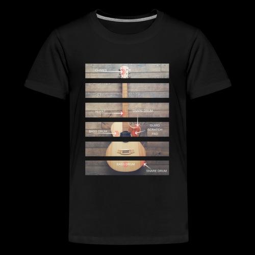 Anatomy Tshirt 3 png - Teenage Premium T-Shirt