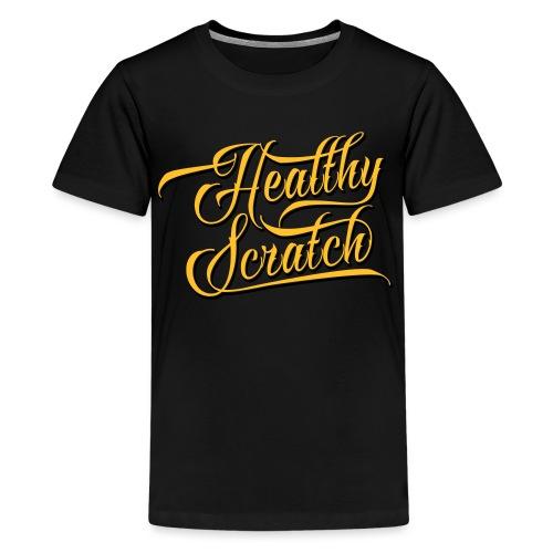 healthy_scratch_vectorize - Teenage Premium T-Shirt