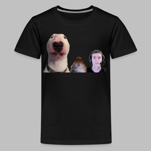 3 Amigos Walter, Hamster and Ltt. - Teenager Premium T-shirt