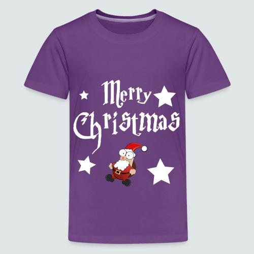 Merry Christmas - Ugly Christmas Sweater - Teenager Premium T-Shirt