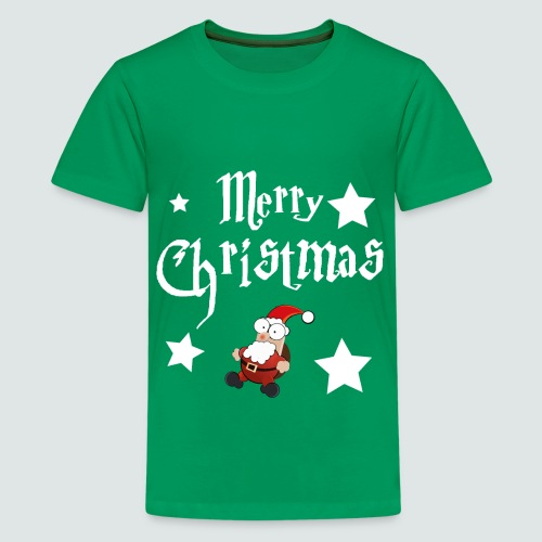 Merry Christmas - Ugly Christmas Sweater - Teenager Premium T-Shirt