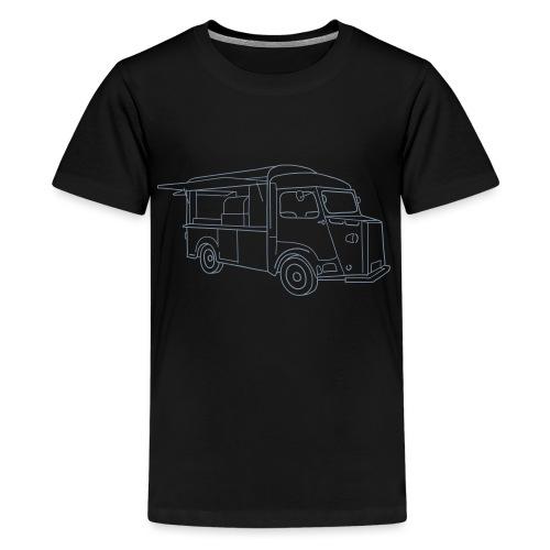 Imbisswagen (Foodtruck) - Teenager Premium T-Shirt
