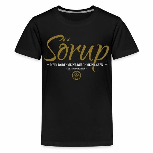Sörup - ein Dorf in traumhaften Angeln - Teenager Premium T-Shirt
