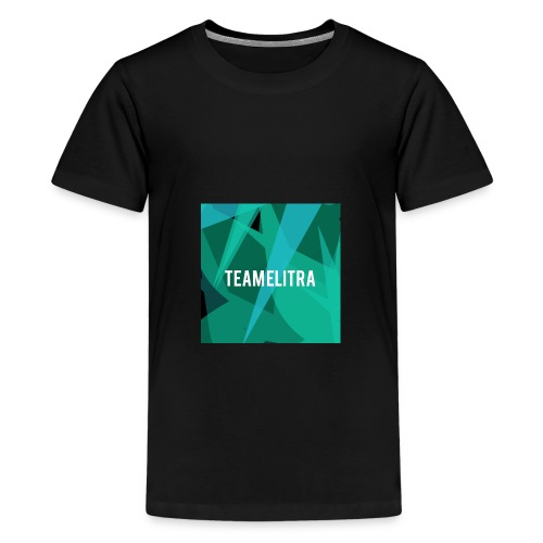 backgrounder 1 png - Teenage Premium T-Shirt