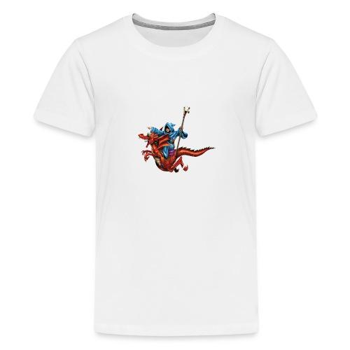 TRoA 30 år - Hvid skrift - Teenager premium T-shirt
