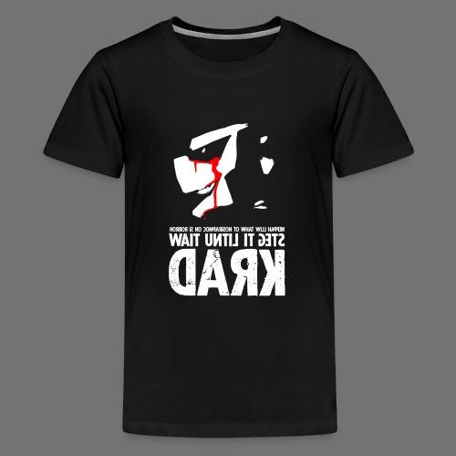 horrorcontest sixnineline - Teinien premium t-paita