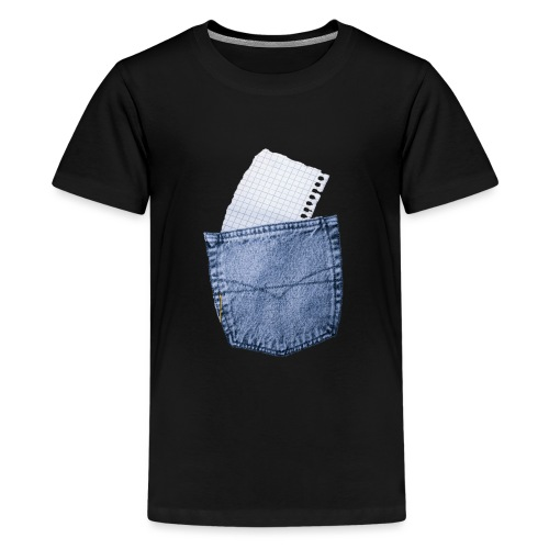 Jeans Baggy by #OneCreativeArts - Teenager Premium T-Shirt