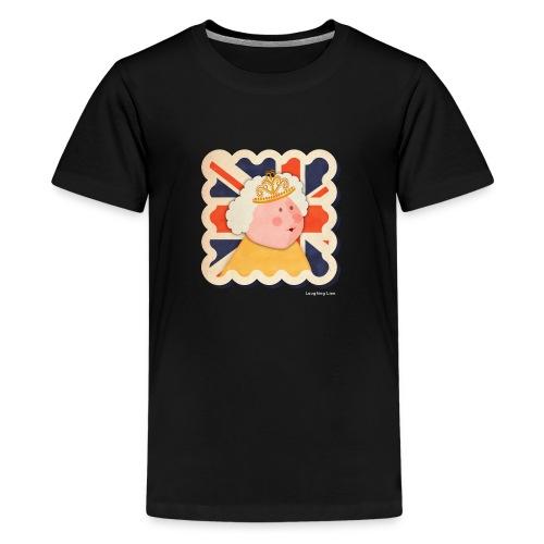The Queen - Teenage Premium T-Shirt
