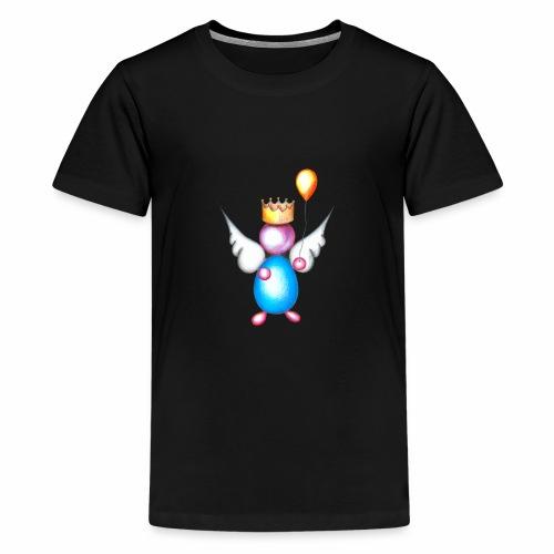 Mettalic Angel geluk - Teenager Premium T-shirt