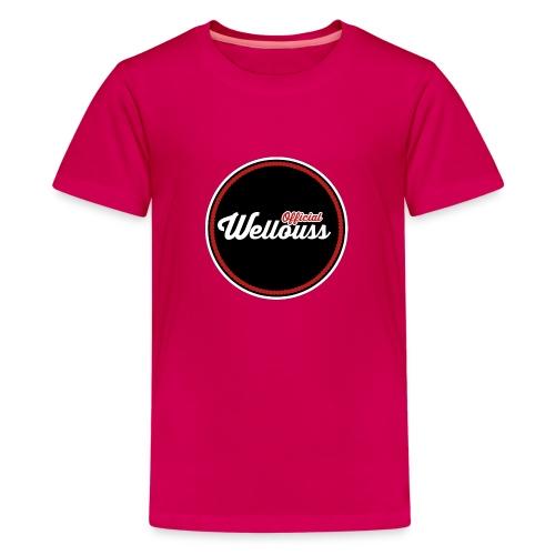 Wellouss Fan T-shirt   Rood - Teenager Premium T-shirt
