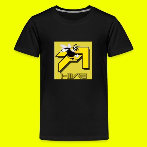 HVIE LOGO - Teenage Premium T-Shirt