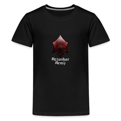 Azzavhar Army Insignia - Teenage Premium T-Shirt