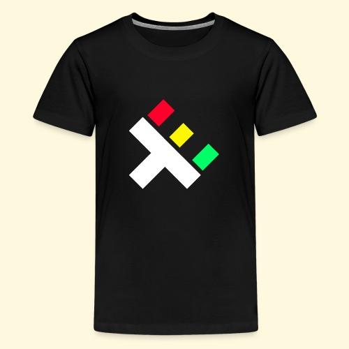 Clan Logo - Rasta - Teenage Premium T-Shirt