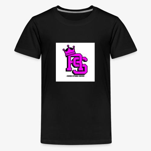 RS - Camiseta premium adolescente