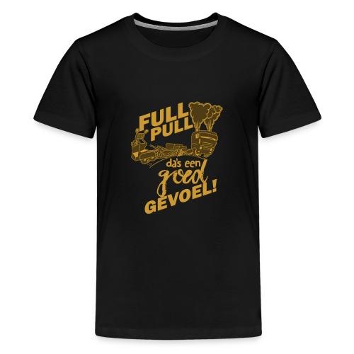 full pull duotone contour - Teenager Premium T-shirt