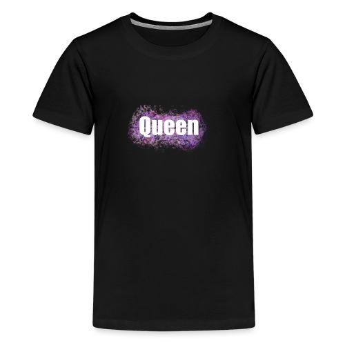Queen bunt color rosa lila girl mädchen frau bff - Teenager Premium T-Shirt