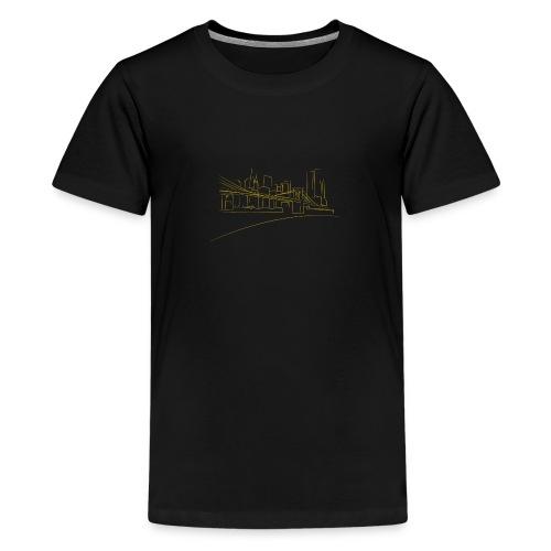 Brooklyn Bridge - T-shirt Premium Ado