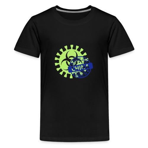 Corona Virus COVID-19 Biohazard Made In China - Teenager Premium T-Shirt