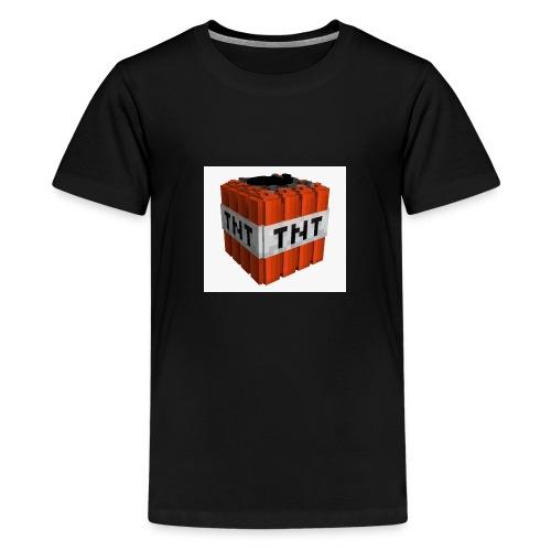 tnt block - Teenager Premium T-shirt