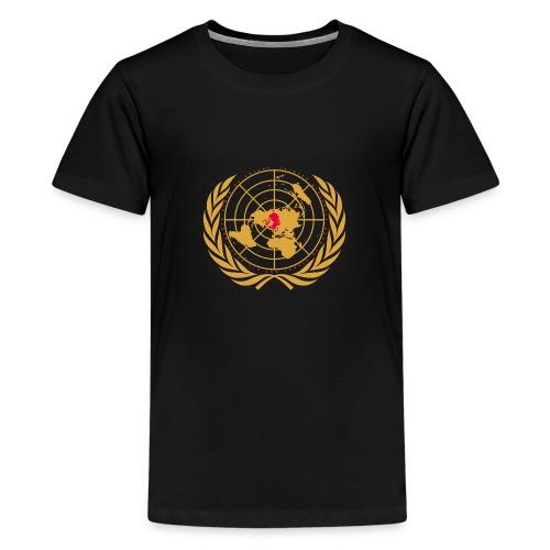 Tous unis pour le réchauffement - T-shirt Premium Ado