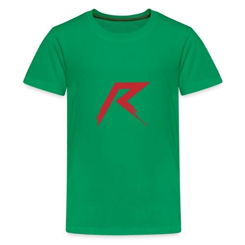 R Logo - Teenager Premium T-shirt