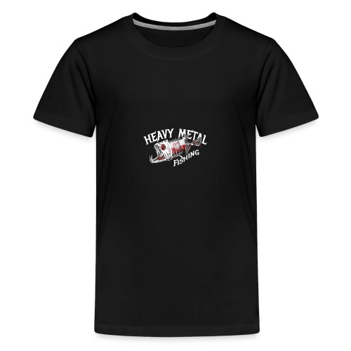 heavy metal fishing Holland - Teenager Premium T-Shirt