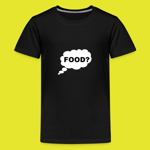 What I am thinking about - Premium-T-shirt tonåring
