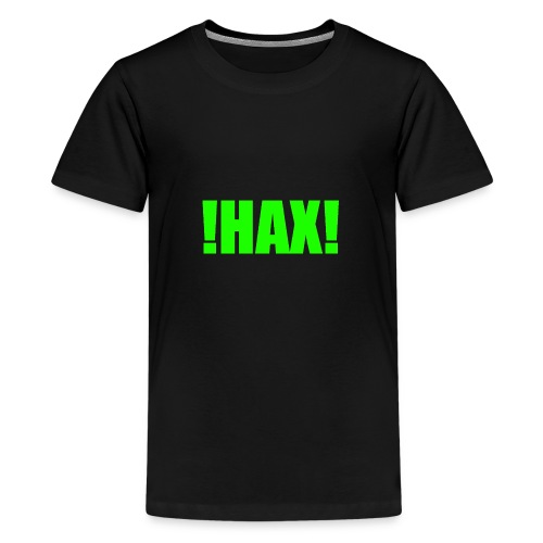 HAX-shirt by BOT SHELL - Teenager Premium T-Shirt