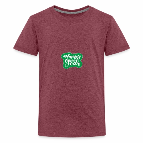 flubbers new year - Teenager Premium T-Shirt