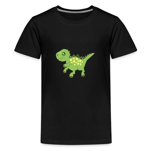 Dino voraz - Camiseta premium adolescente