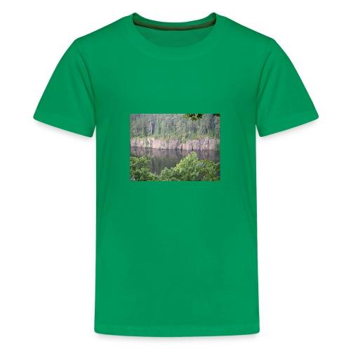 Laatokan maisemissa - Teinien premium t-paita