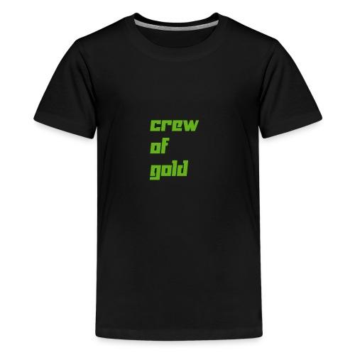 crew - Maglietta Premium per ragazzi