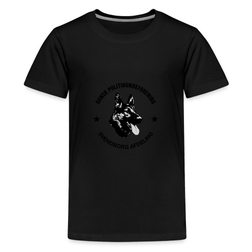 Svendborg ph sort - Teenager premium T-shirt