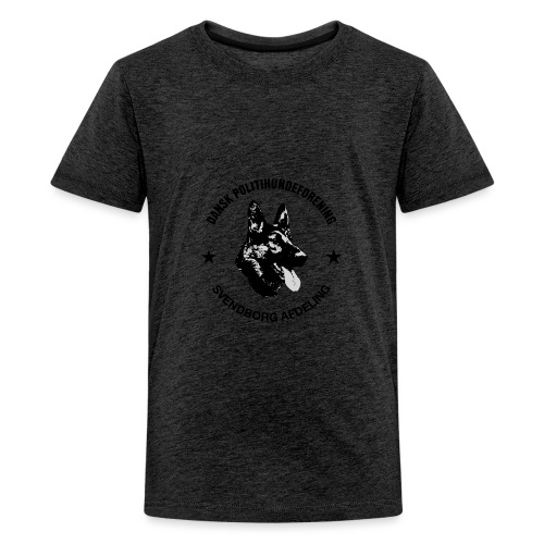 Svendborg ph sort - Teenager premium T-shirt