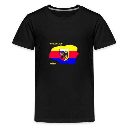 Foehr Insel Nordsee Urlaub - Teenager Premium T-Shirt